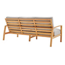 Load image into Gallery viewer, Orlean Outdoor Patio Eucalyptus Wood Sofa