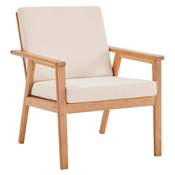 Vero Ash Wood Outdoor Patio Armchair