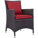 Load image into Gallery viewer, Convene 3 Piece Armchair Outdoor Patio W/ Fire Pit