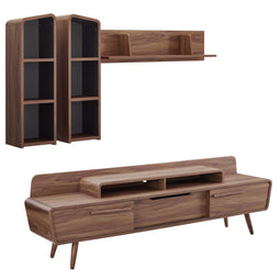 Modern Omnistand 2 Piece Entertainment Center - Wall Tv Stand - Tv Console Table