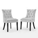 Load image into Gallery viewer, Regent Tufted Performance Velvet Dining Side Chairs - Set of 2
