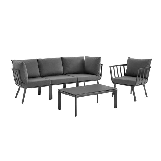 Riverside Outdoor Patio Aluminum Set