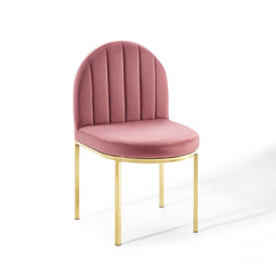 Isla Channel Tufted Performance Dining Side Chair