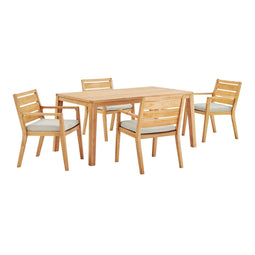Portsmouth Outdoor Patio Karri Wood Dining Set