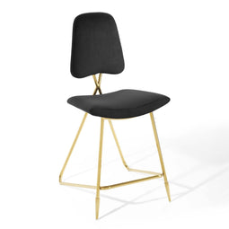 Ponder Performance Stool In Velvet
