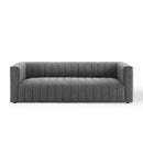 Load image into Gallery viewer, Reflection Channel Tufted Upholstered Fabric Sofa