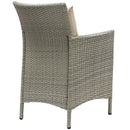 Load image into Gallery viewer, Conduit 5 Piece Outdoor Patio Wicker Rattan Dining Set