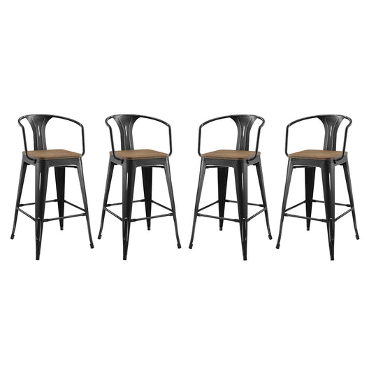 Promenade Bar Stool Set of 4