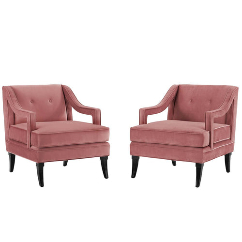 Concur Living Room Set Performance Velvet Set of 2
