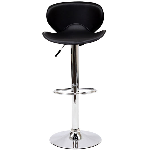Contemporary Modern Booster Dinner Bar Stools - Bar Stools With Back - Bar Chairs