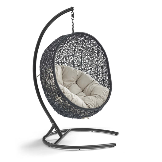 Hanging Basket Swing Chair For Indoor/Outdoor Decor - Encase Swing Outdoor Patio Lounge Chair