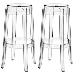 Modern Casper Counter Height Bar Stool - Step Of 2 - Dinner Bar Stools