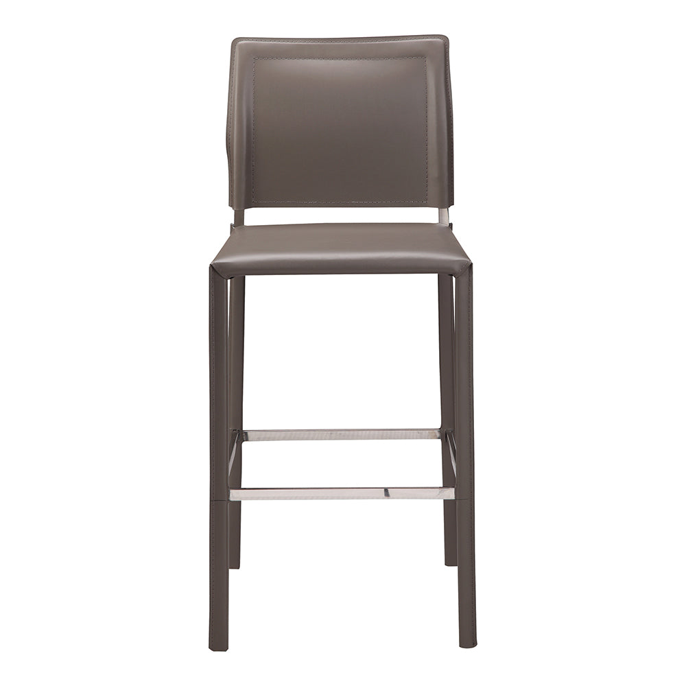 Contemporary Modern Stallo Counter Stool - Charcoal -  Accent Stool For Living Room