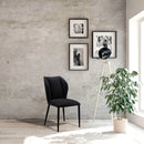 Load image into Gallery viewer, Contemporary Modern Broonsy Dining Chair - Dining Room Table Sets - Charcoal Gray
