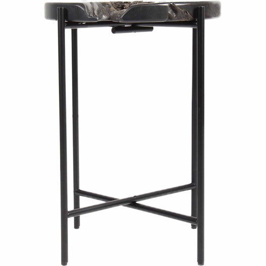 Petro Side Table, Grey, Contemporary Modern