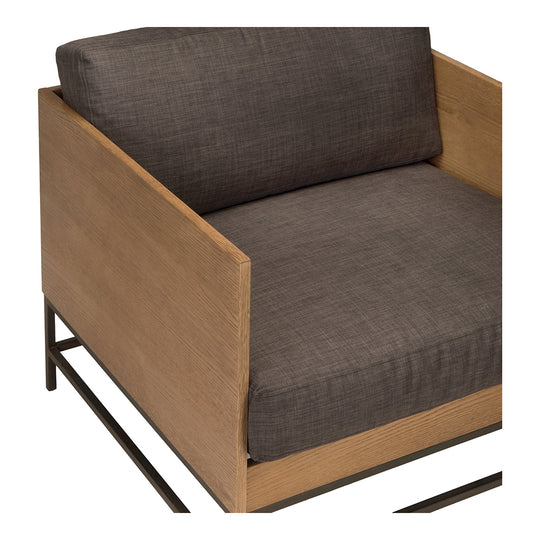 Transitional Girona Club Lounge Armchair - Padded Seat Living Balcony Chair