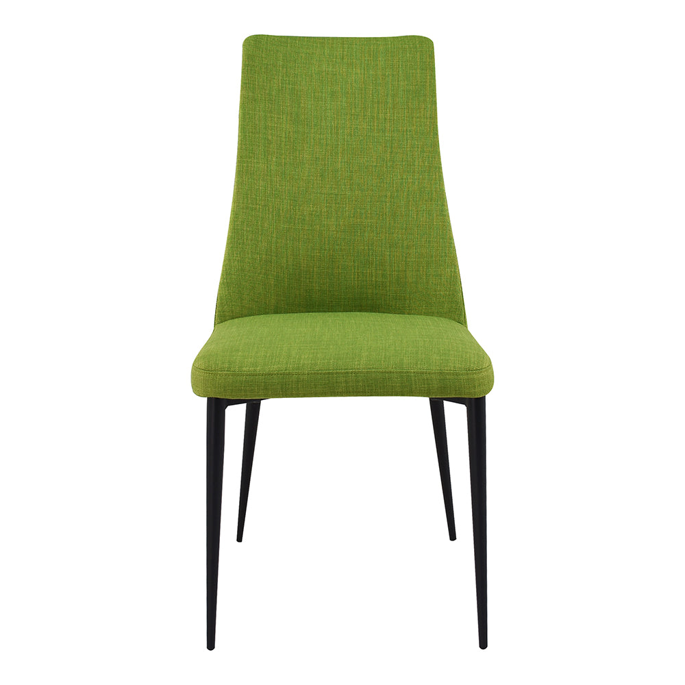 Palm Chair Green-Set Of Two, Transitional, Green