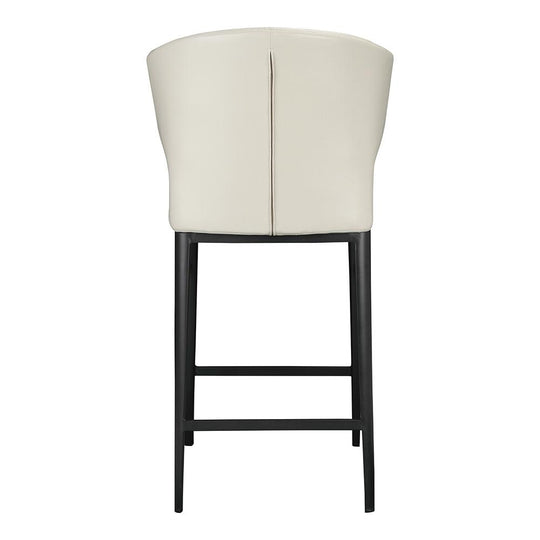 Contemporary Modern Delaney Counter Stools - Back Table & Dining Bar Chairs