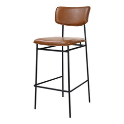 Modern Style Sailor High Counter Barstool - Counter Height Dining Chair