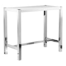 Load image into Gallery viewer, Contemporary Modern Riva Bar Table - Counter Height Kitchen Breakfast Bar Table