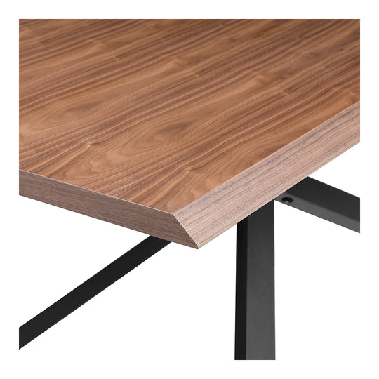 Mid - Century Modern Oslo Dining Table - Walnut - 6 Person Set Dining Room Table