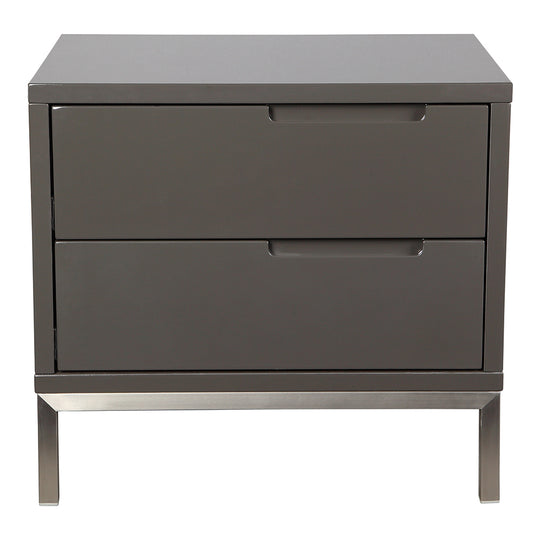 Contemporary Modern Naples Side Table - Side Table With Drawers - Nightstands
