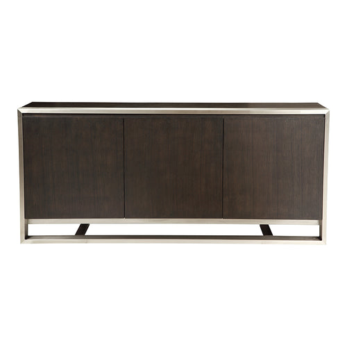 Contemporary Modern Vincent Sideboard Kitchen Storage Cabinet - Kitchen Pantry Cabinet