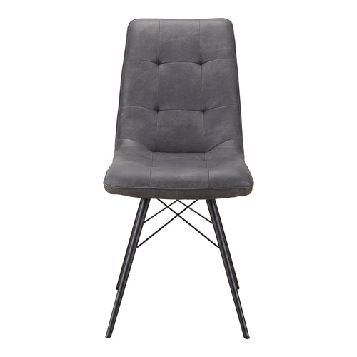 Morrison Side Chair - Dining Chairs Grey | Moe's Furniture