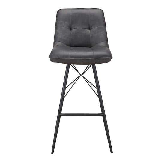 Morrison Bar Stool Grey | Bar Counter Stools | Moe's Home