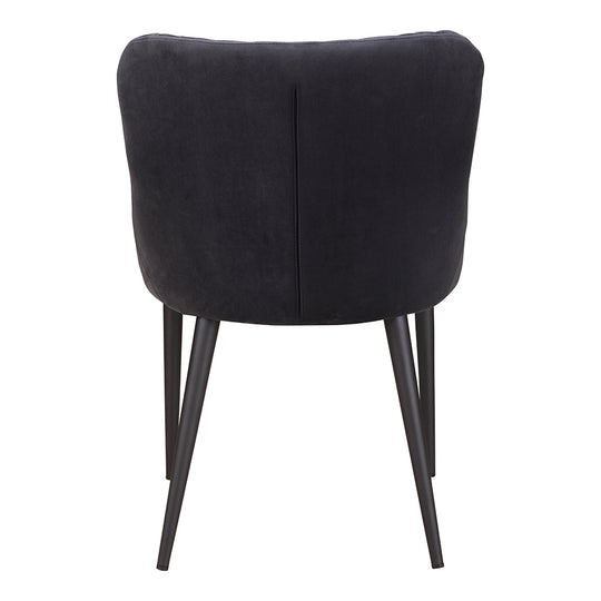 Contemporary Style Etta Velvet Dining Side Chair - Table And Chair Set