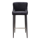 Load image into Gallery viewer, Glam Etta Bar Stool - Bar Stool With Footrest And Back - Kitchen Stools
