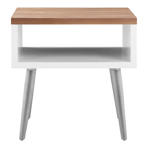 Cisco Side Table, Brown, Contemporary Modern