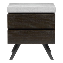 Quincy Side Table, Light Grey, Contemporary Modern