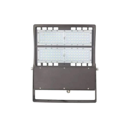 LED Flood Light 100W - 300W Equivalent - Bronze Finish - 14000 Lumens - 5700K DLC Approved Security Lights