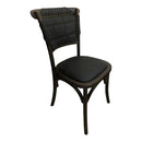 Load image into Gallery viewer, Transitional Faroe Dining Room Chair Set - Modern Dining Chair Set - Black