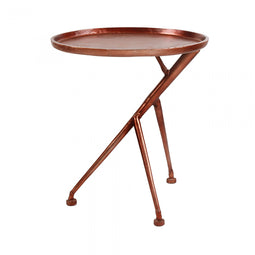 Conductor Side Table Bronze, Glam