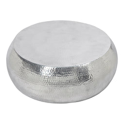 Contemporary Modern Aluminium Frame Tabla Coffee Table - Corner Lounge Table