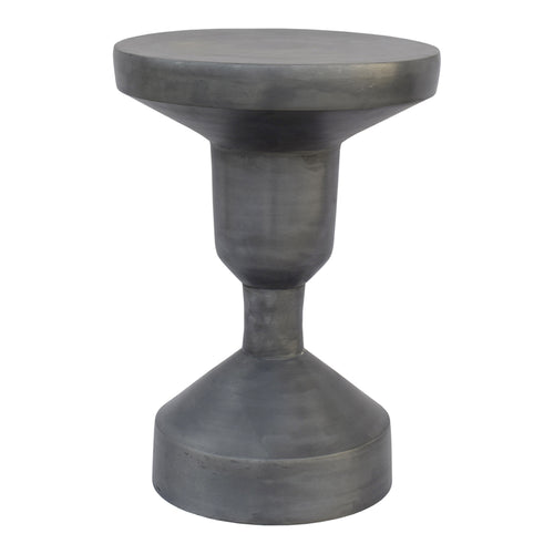 Industrial Lotos Gun Metal Counter Height Bar Stools - Cafe Corner Stool
