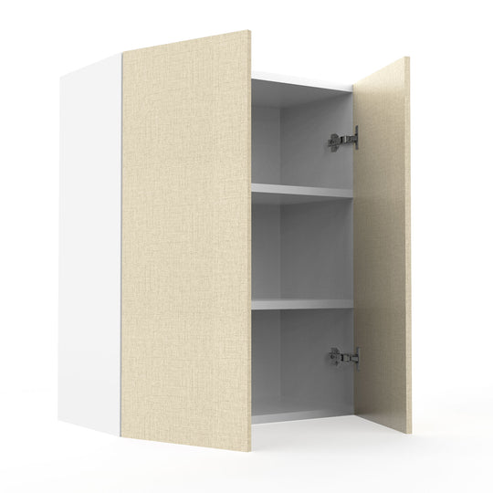"24"" X 30"" Double Door Wall Cabinet - Fabric Grey"