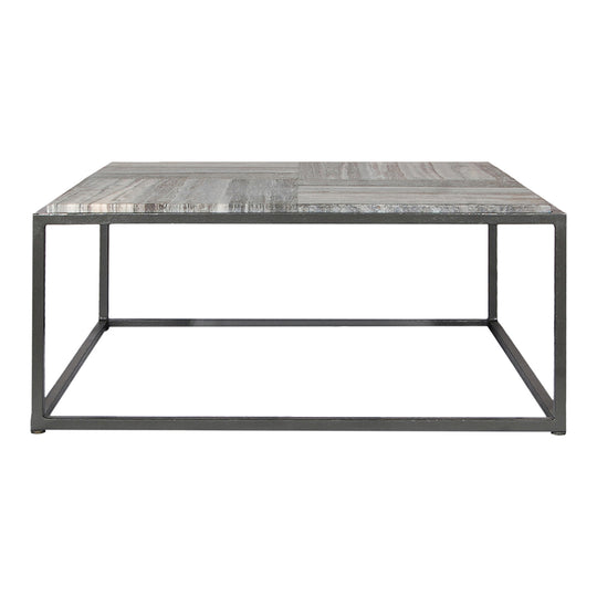 Contemporary Modern Winslow Marble Coffee Table - Restaurant - Cafe - Coffee Table