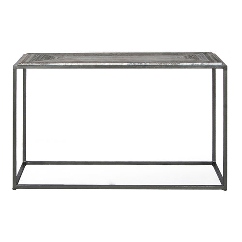 Contemporary Modern Winslow Marble Top Entryway, Hallway, Entrance Console Table