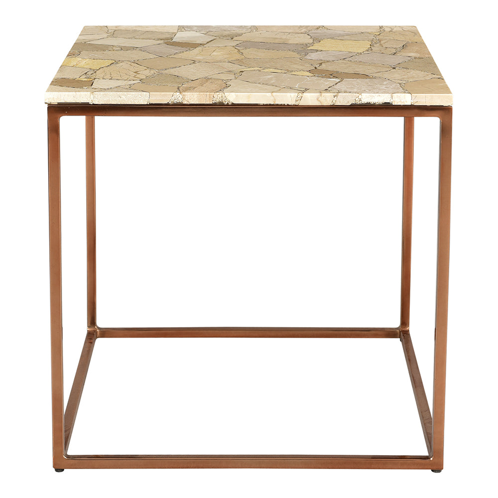 Moxie Side Table, Natural, Transitional