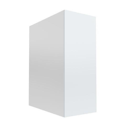 "12"" Single Door Base Cabinet, Glossy White"