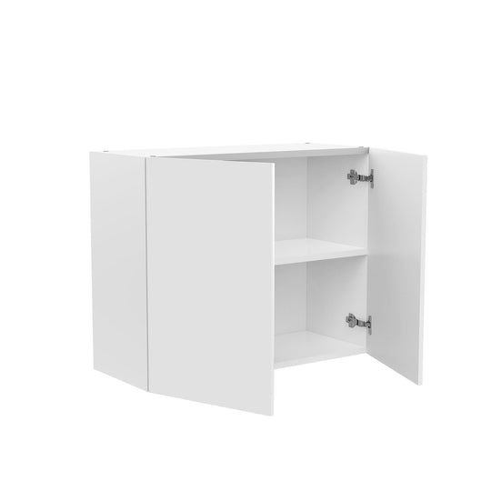 "30"" X 24"" Double Door Wall Cabinet - Glossy White"