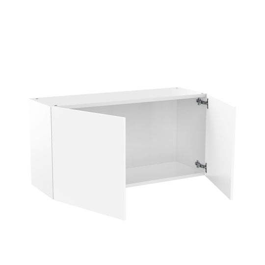 "36"" X 18"" Double Door Wall Cabinet - Glossy White"