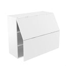 "Load image into Gallery viewer, 36""W X 30""H Wall Bi-Folder Wall Cabinet - Glossy White"
