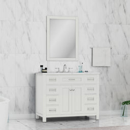 Norwalk 42 Vanity With Carrera Marble Top