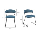 Load image into Gallery viewer, Modern Adria Dining Side Chair - Modern Dining Room Chair Set - Dining Set