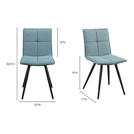 Contemporary Modern Jojo Dining Side Chair - Kitchen And Table Set