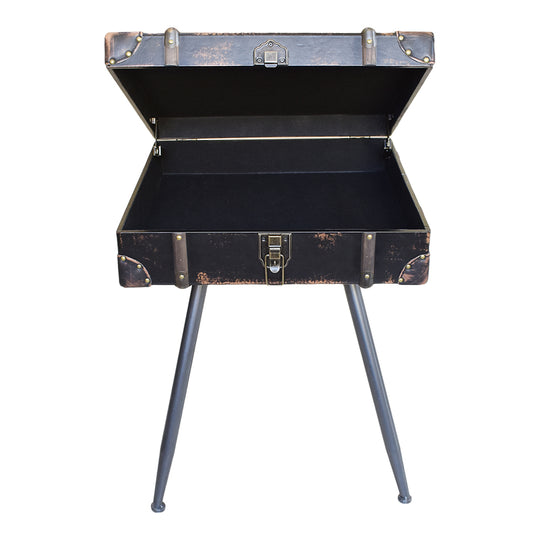 Davy Jones Side Table Black | End & Accent Tables | Moe's Home